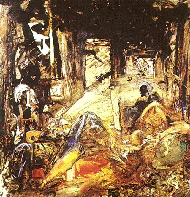 SALVADOR DALI – 1961 – 07 – Mohammed's Dream (Homage to Fortuny) 1961