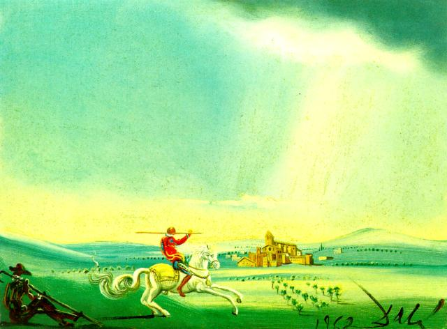 SALVADOR DALI – 1962 – 11 – St. George and the Dragon 1962