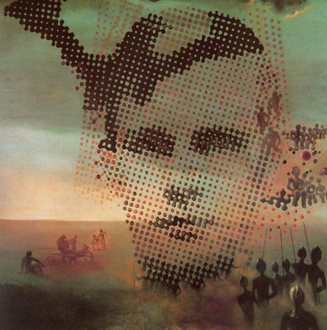 SALVADOR DALI – 1963 – 01 – Portrait of My Dead Brother 1963
