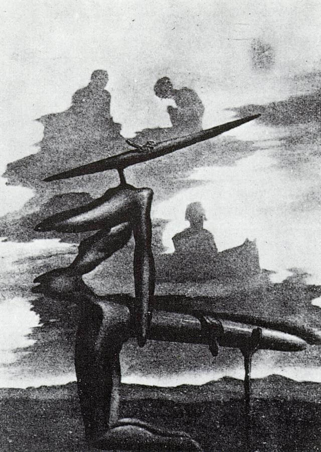 SALVADOR DALI – 4- The Spectre of the Angelus (Dali)