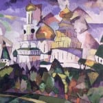 Churches new jerusalem -Vassily Kandinsky