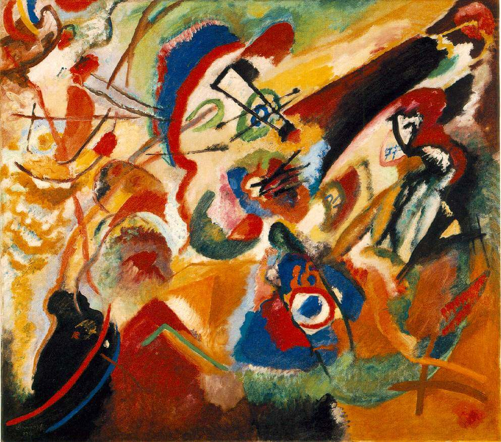 Kandinsky - Fragment 2 For Composition Vii