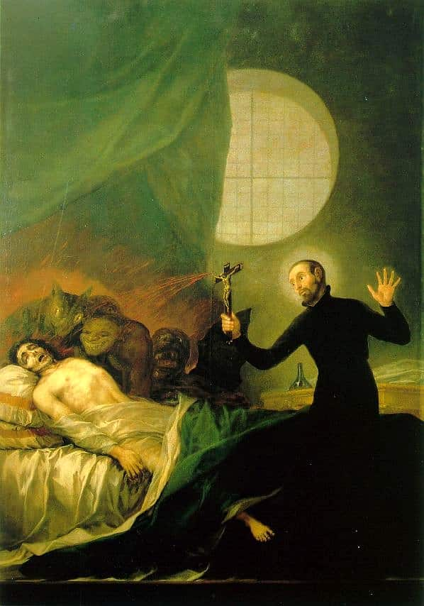 Exorcismo de San Francisco