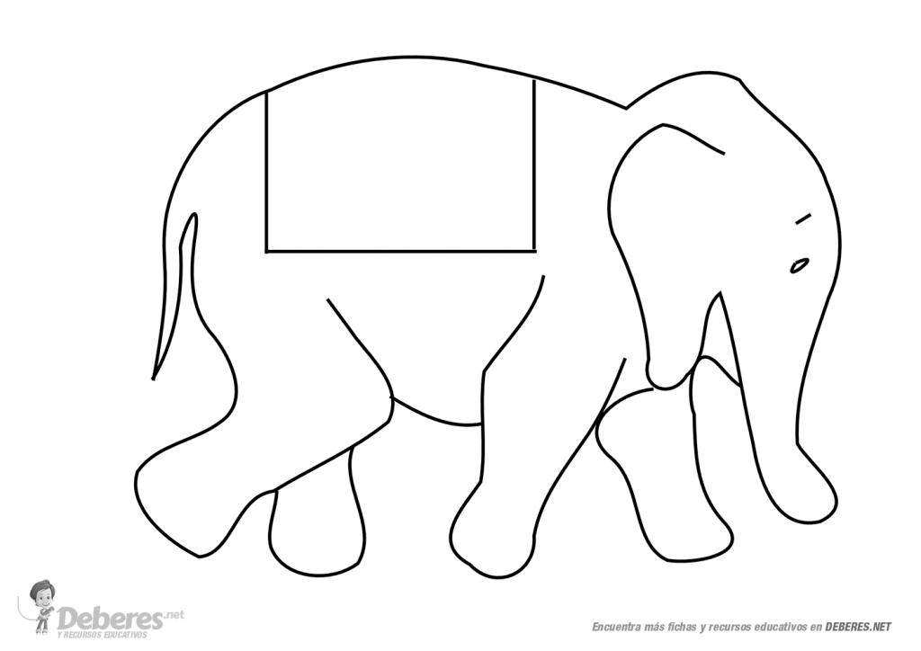 Dibujos para colorear de elefantes infantiles ideas - Dibujos naif para pintar ...