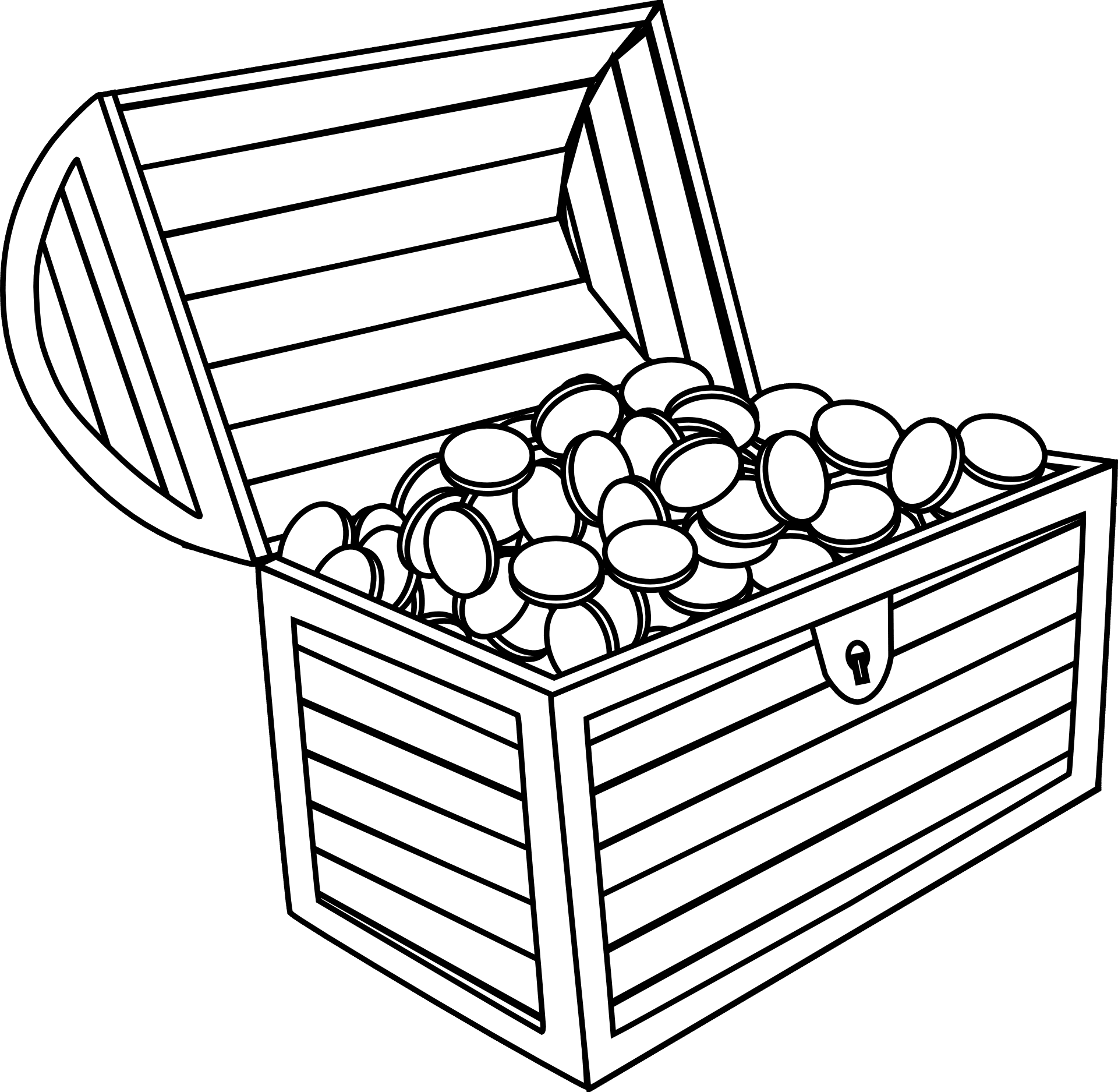 money box coloring pages-#26