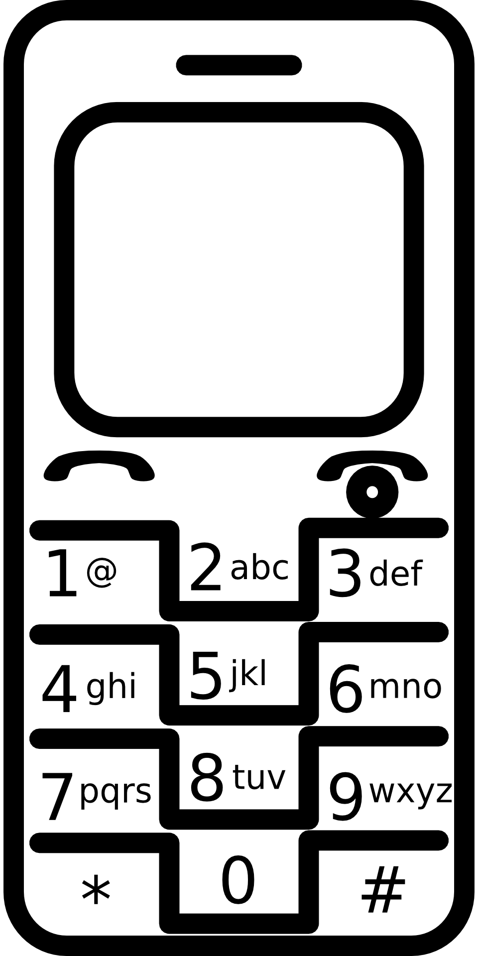 Telefono Movil Para Colorear on I Worksheets For Preschool