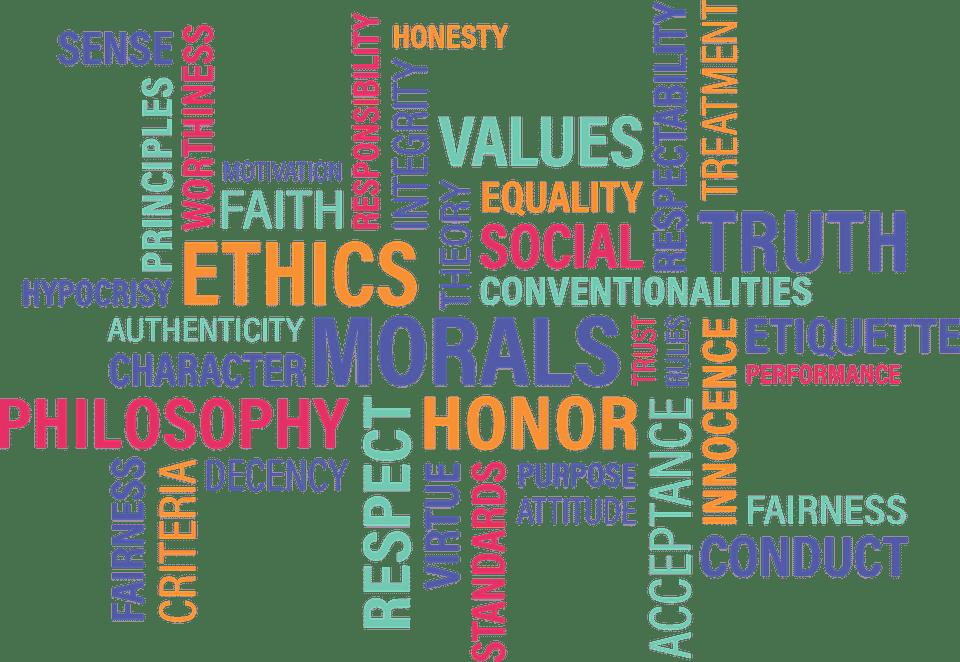 escala de valores morales