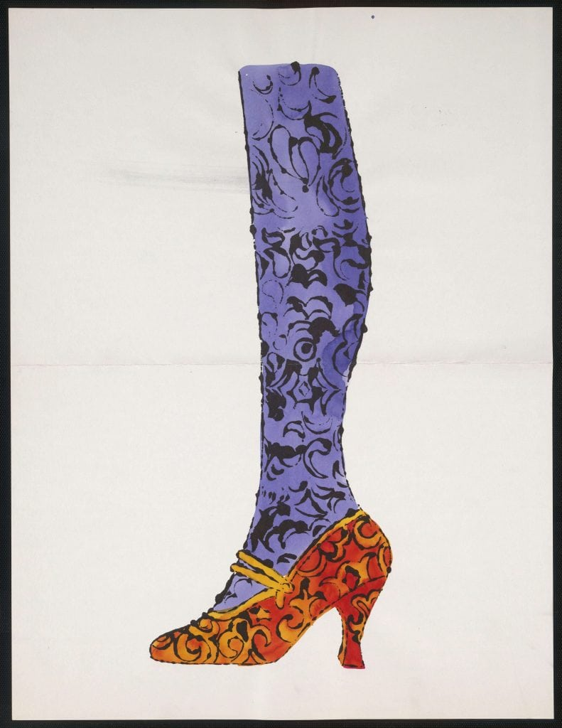 Andy Warhol - Untitled from + la recherche du shoe perdu