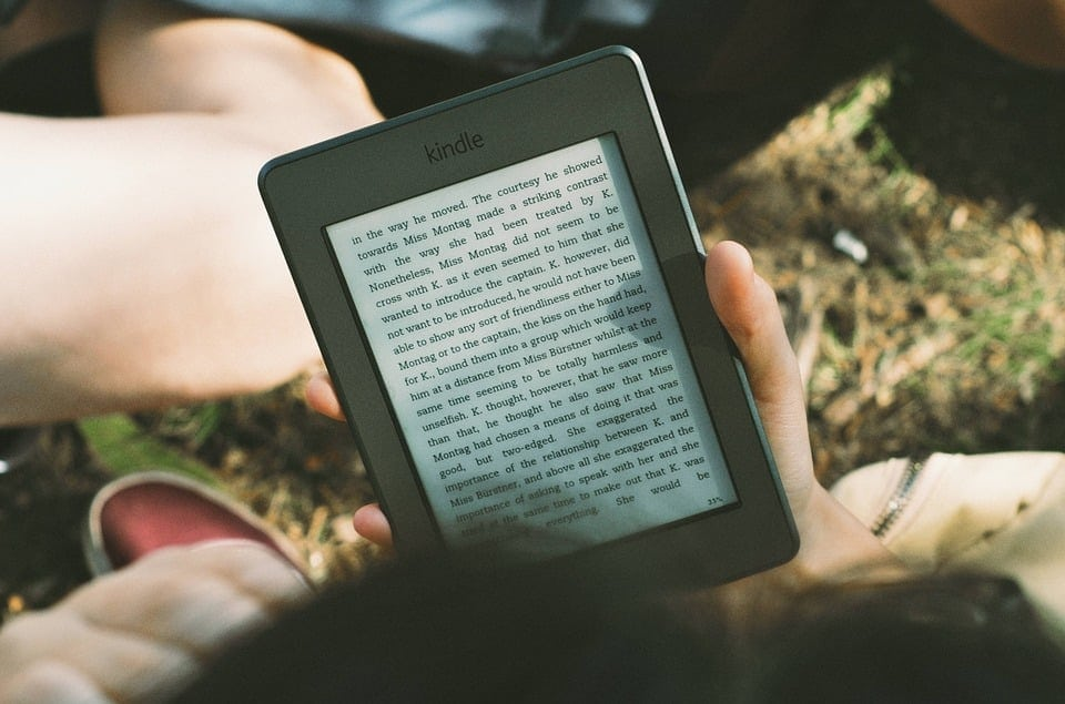 leyendo ebook kindle