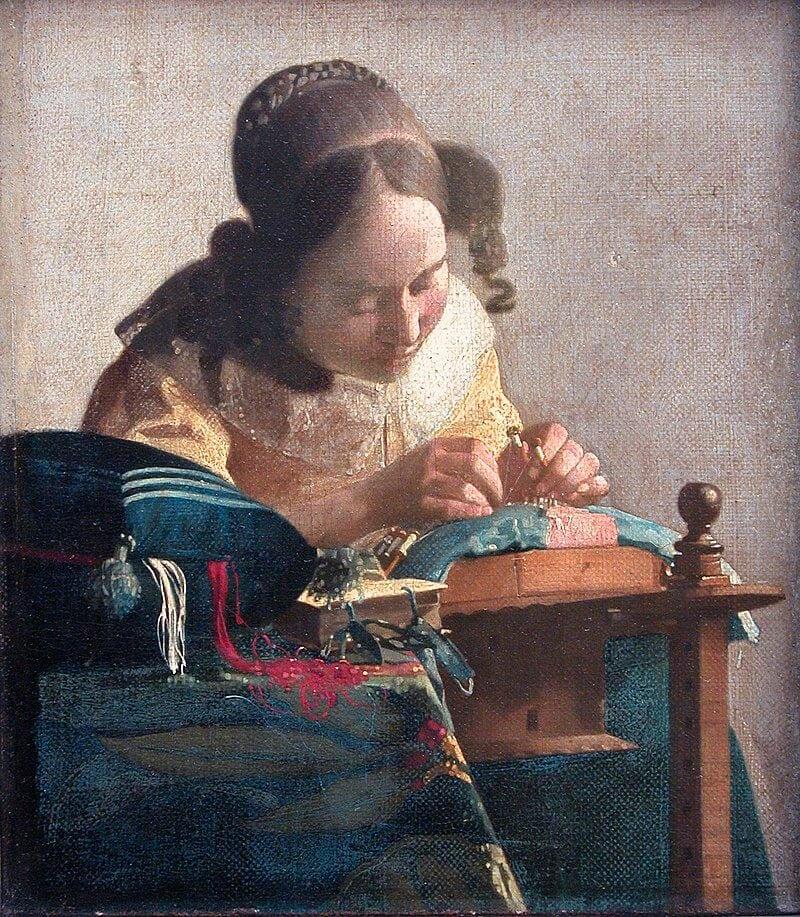 La Encajera de Vermeer