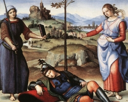 Raffaello-Allegory28TheKnight27sDream29