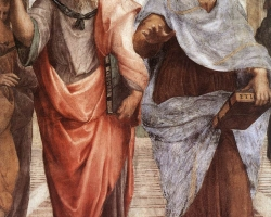 Raffaello-StanzeVaticane-TheSchoolofAthens28detail295B015D