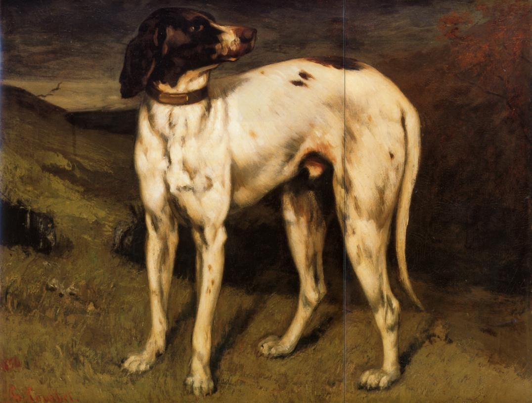A Dog from Ornans – Gustave Courbet