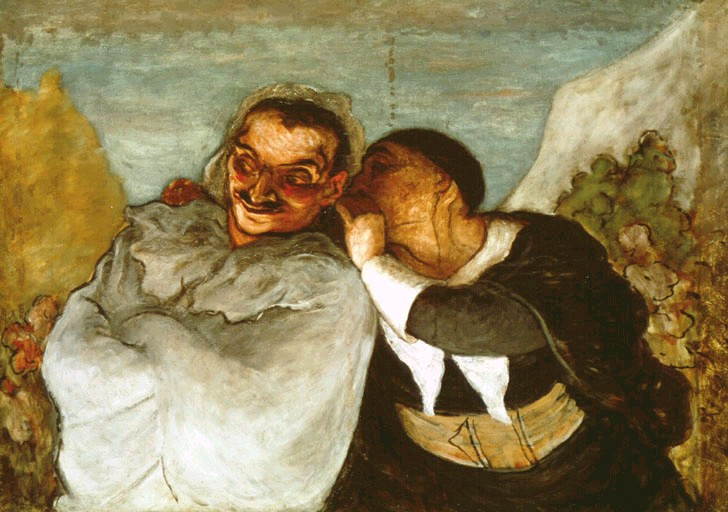 Daumier – Crispin et Scapin