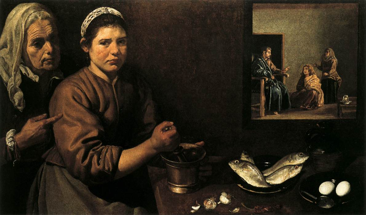 Diego Velázquez – Christ in the House of Mary and Martha – 60