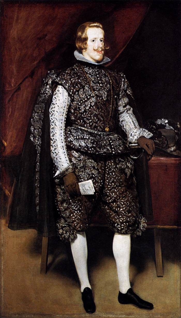 Diego Velázquez – Philip IV in Brown and Silver – 84