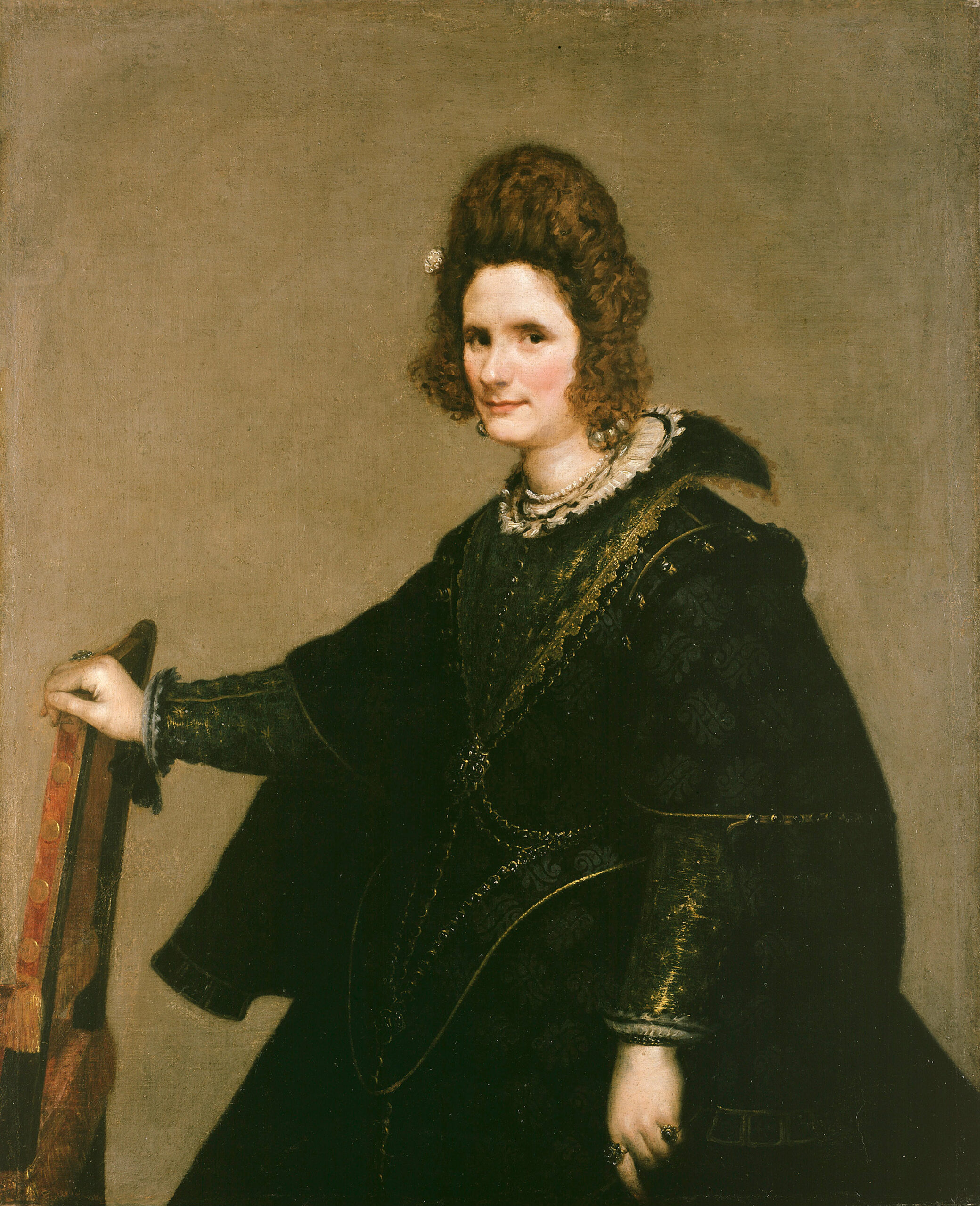 Diego Velázquez – Portrait of a Lady – Google Art Project