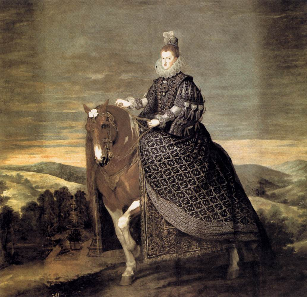 Diego Velázquez – Queen Margarita on Horseback – 09