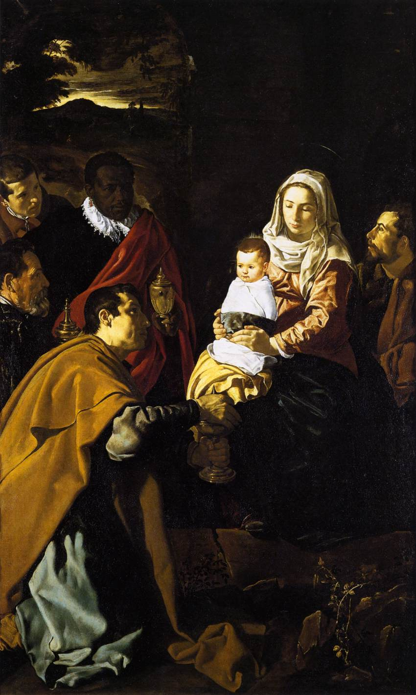 Diego Velázquez – The Adoration of the Magi – 59