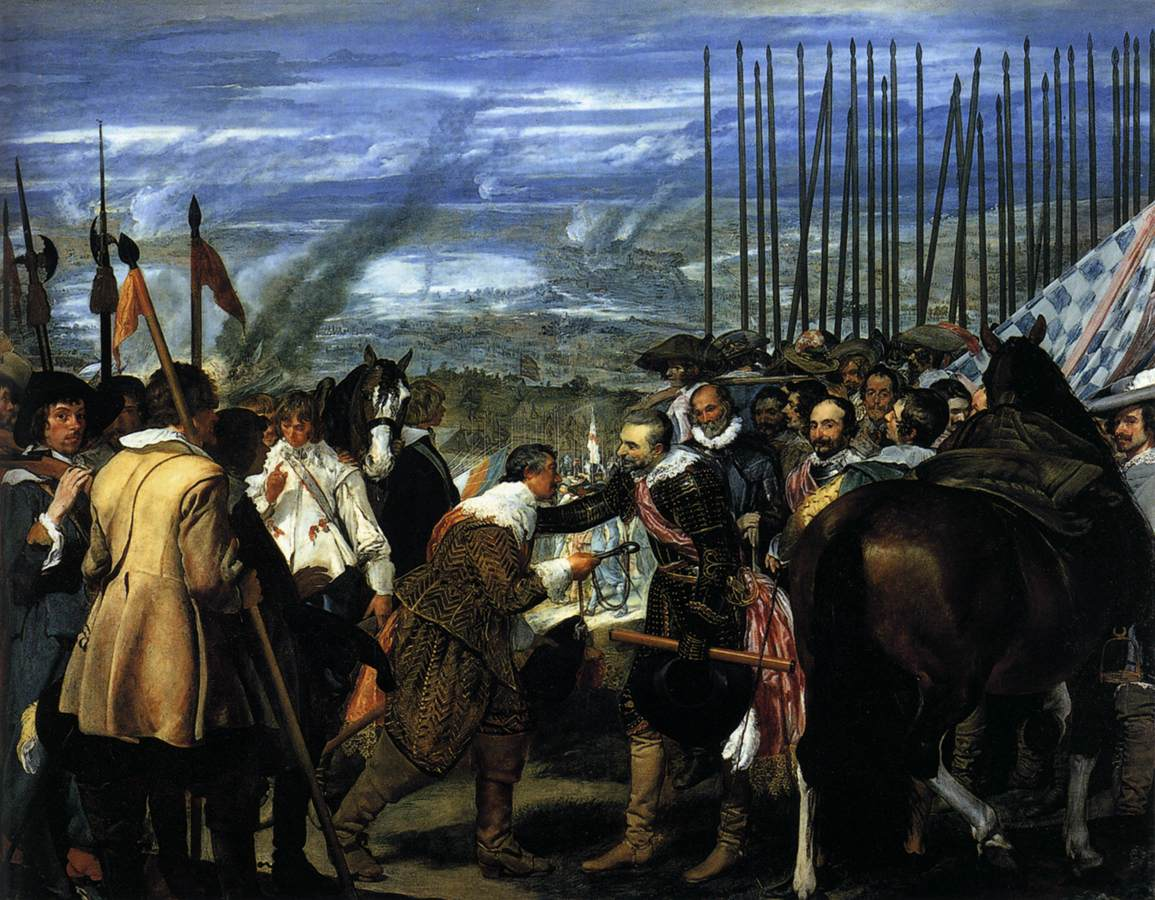 Diego Velázquez – The Surrender of Breda (Las Lanzas) – 01