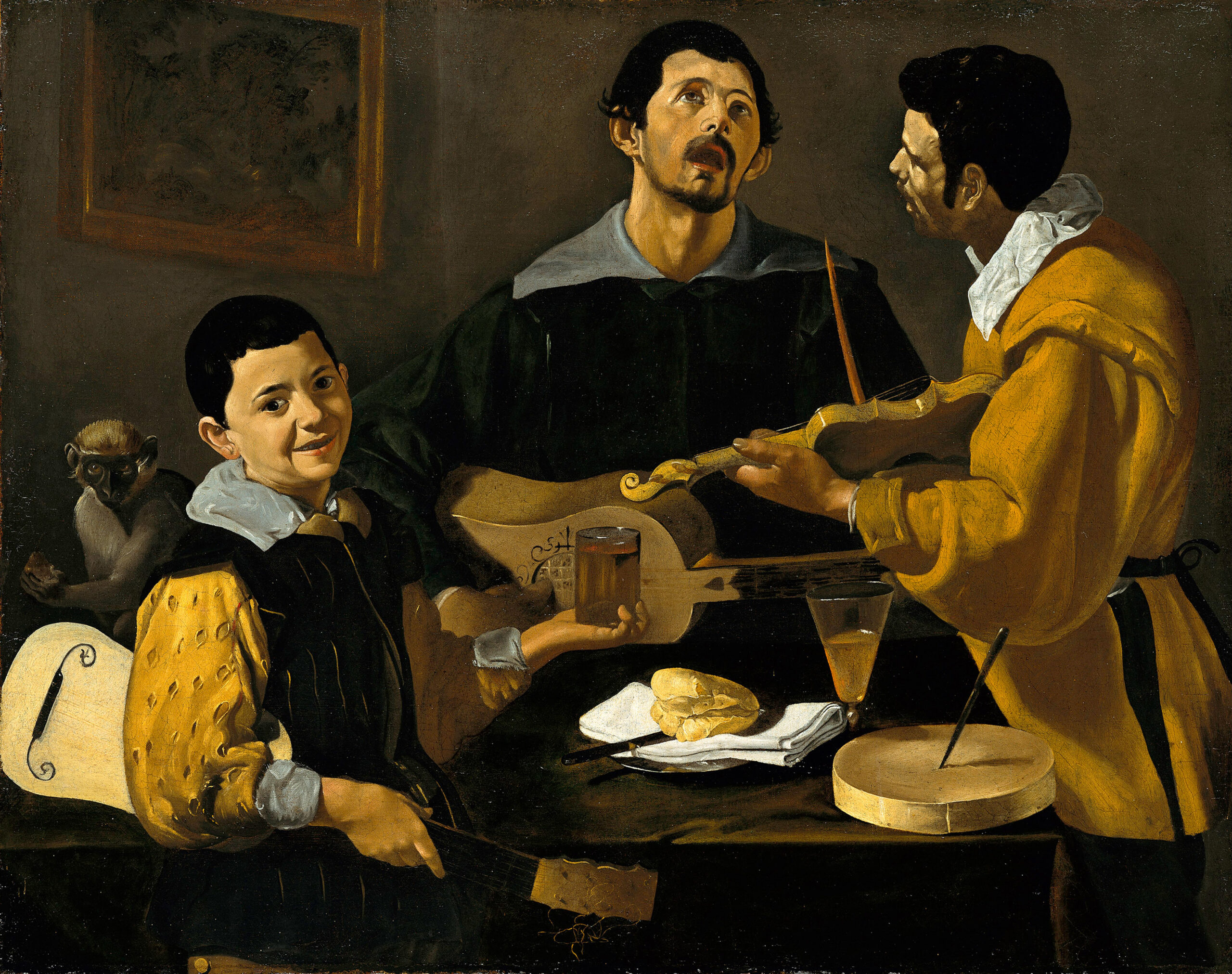 Diego Velázquez – The Three Musicians – Google Art Project