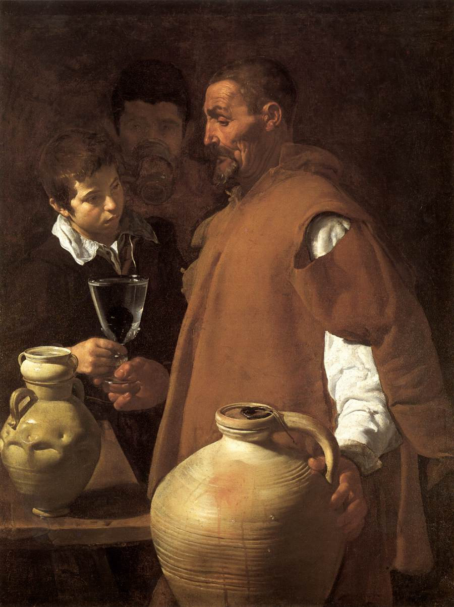 Diego Velázquez – The Waterseller of Seville – 66