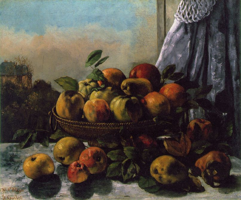 Fruit – Gustave Courbet