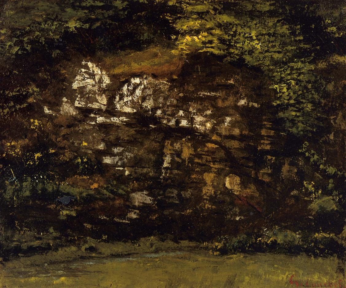 In the Woods – Gustave Courbet
