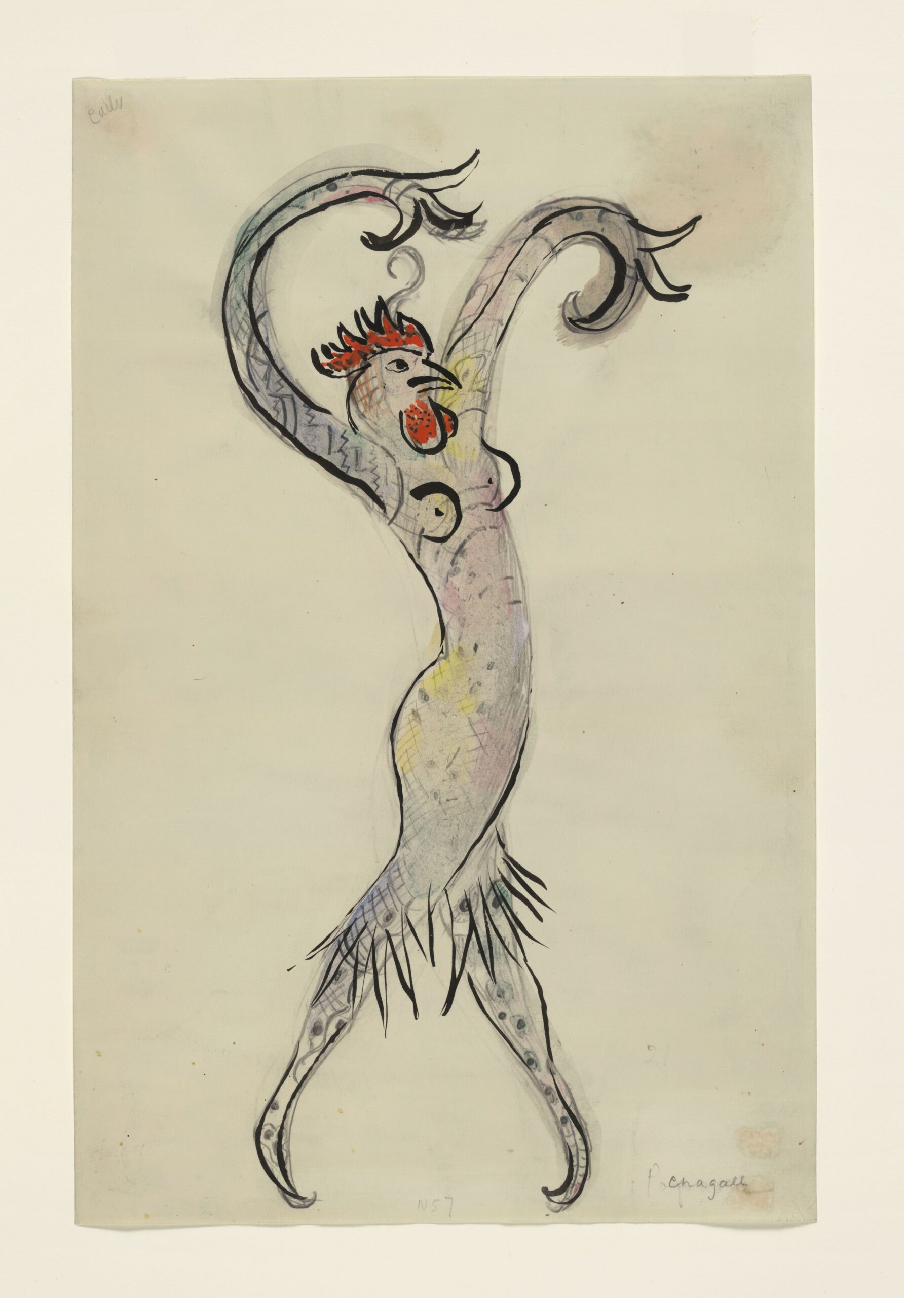 Marc Chagall – A Rooster