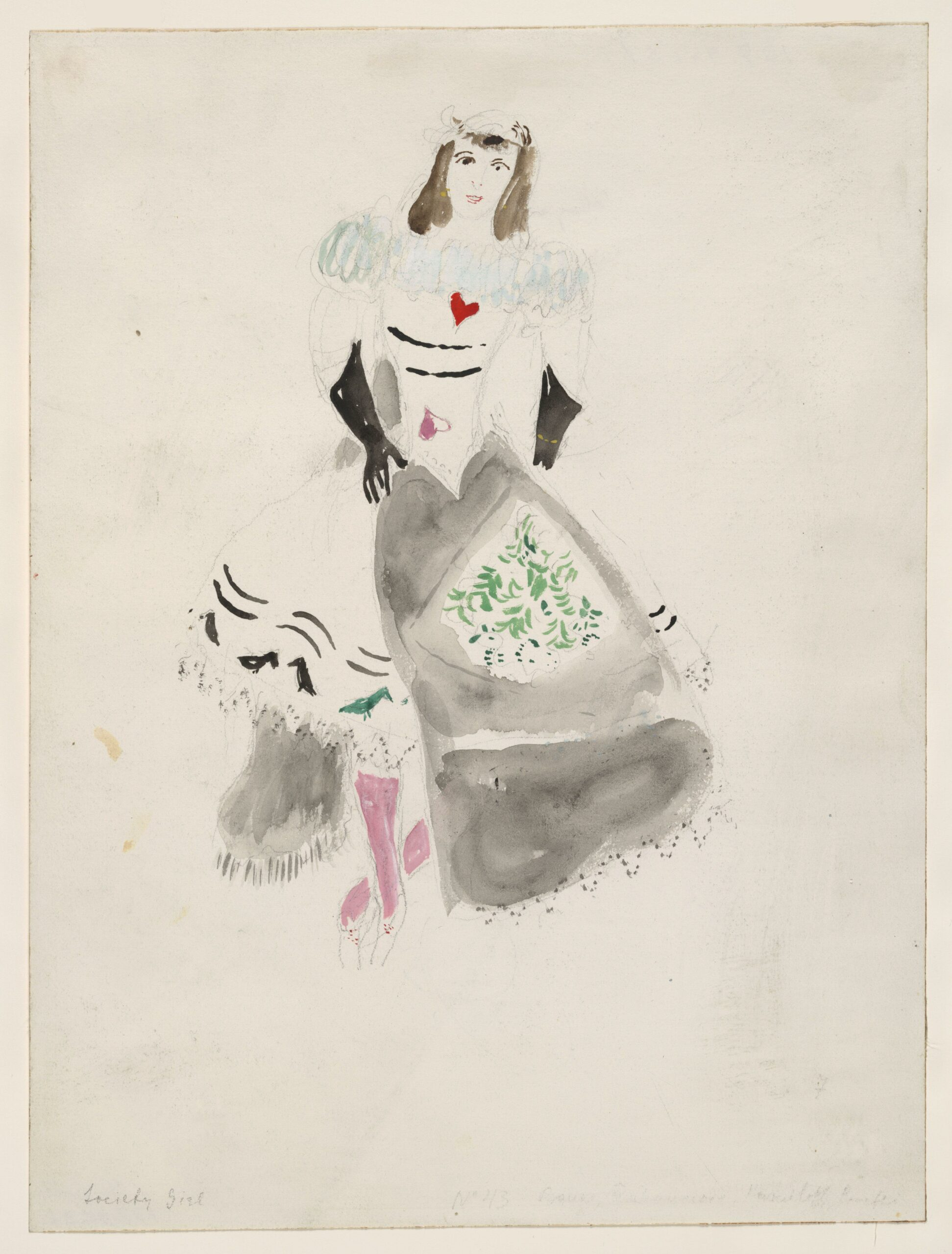 Marc Chagall – A Society Lady
