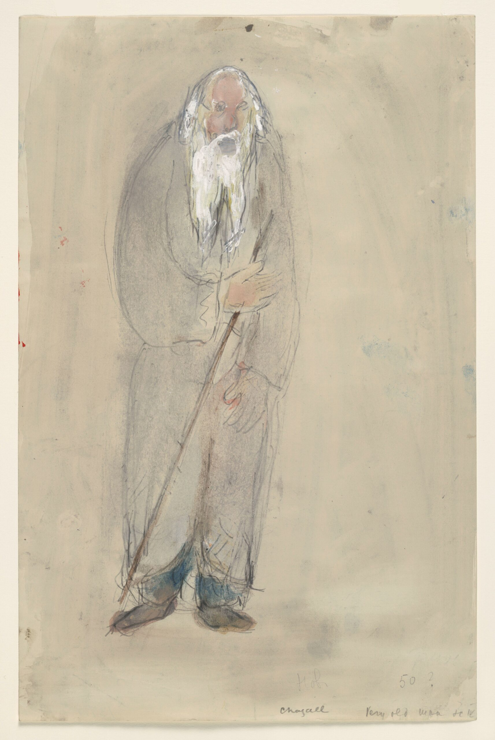 Marc Chagall – A Very Old Man