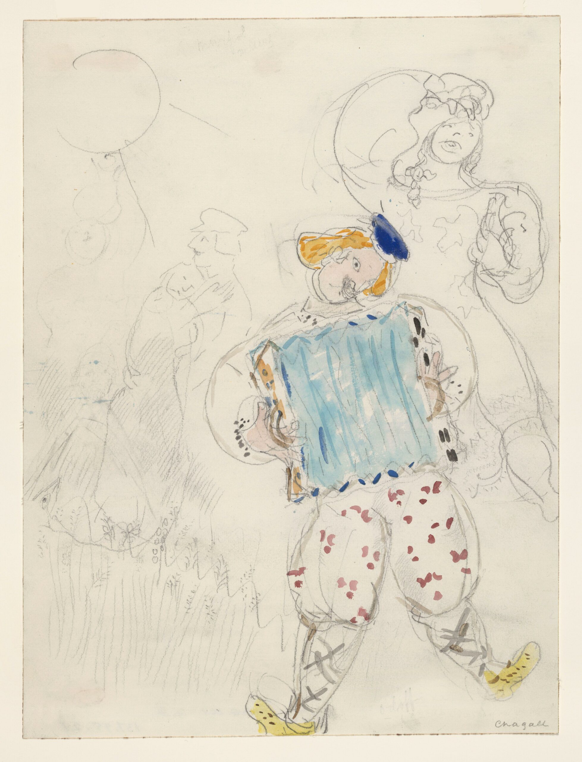 Marc Chagall – A Young Boy