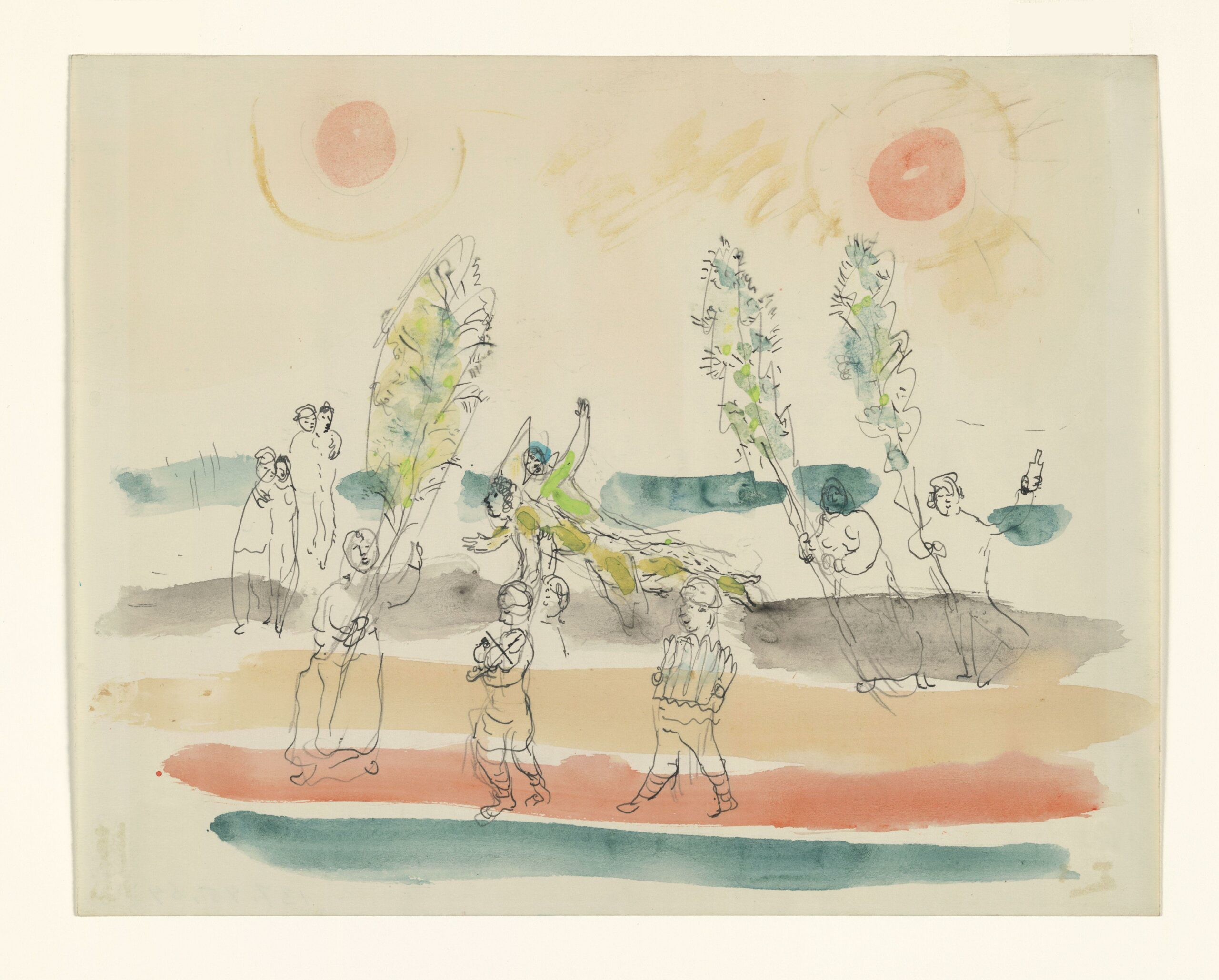 Marc Chagall – Choreographic suggestions for the ballet