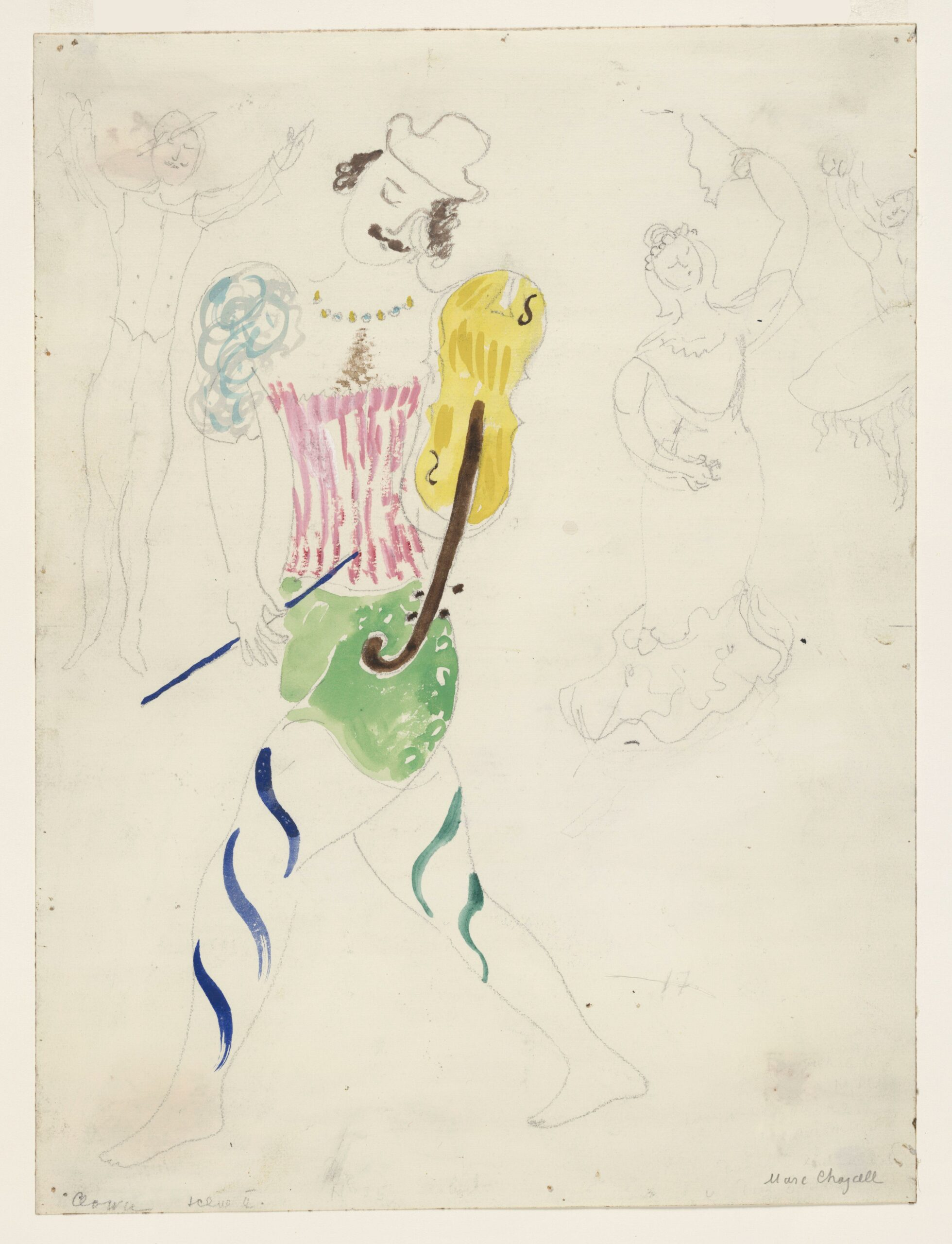 Marc Chagall – Clown