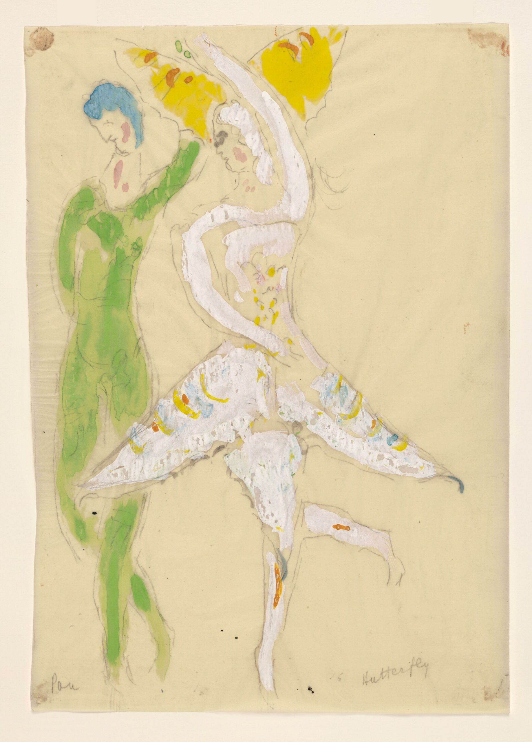 Marc Chagall – Costume for Butterfly