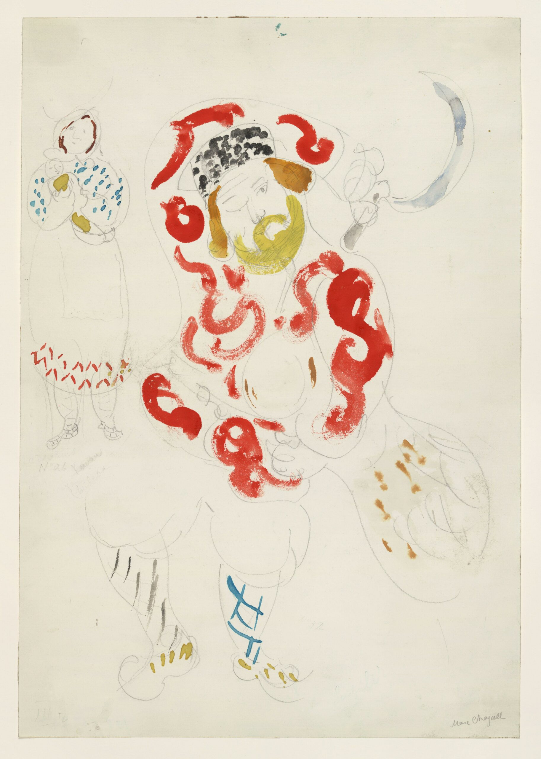 Marc Chagall – Costumes for Peasant