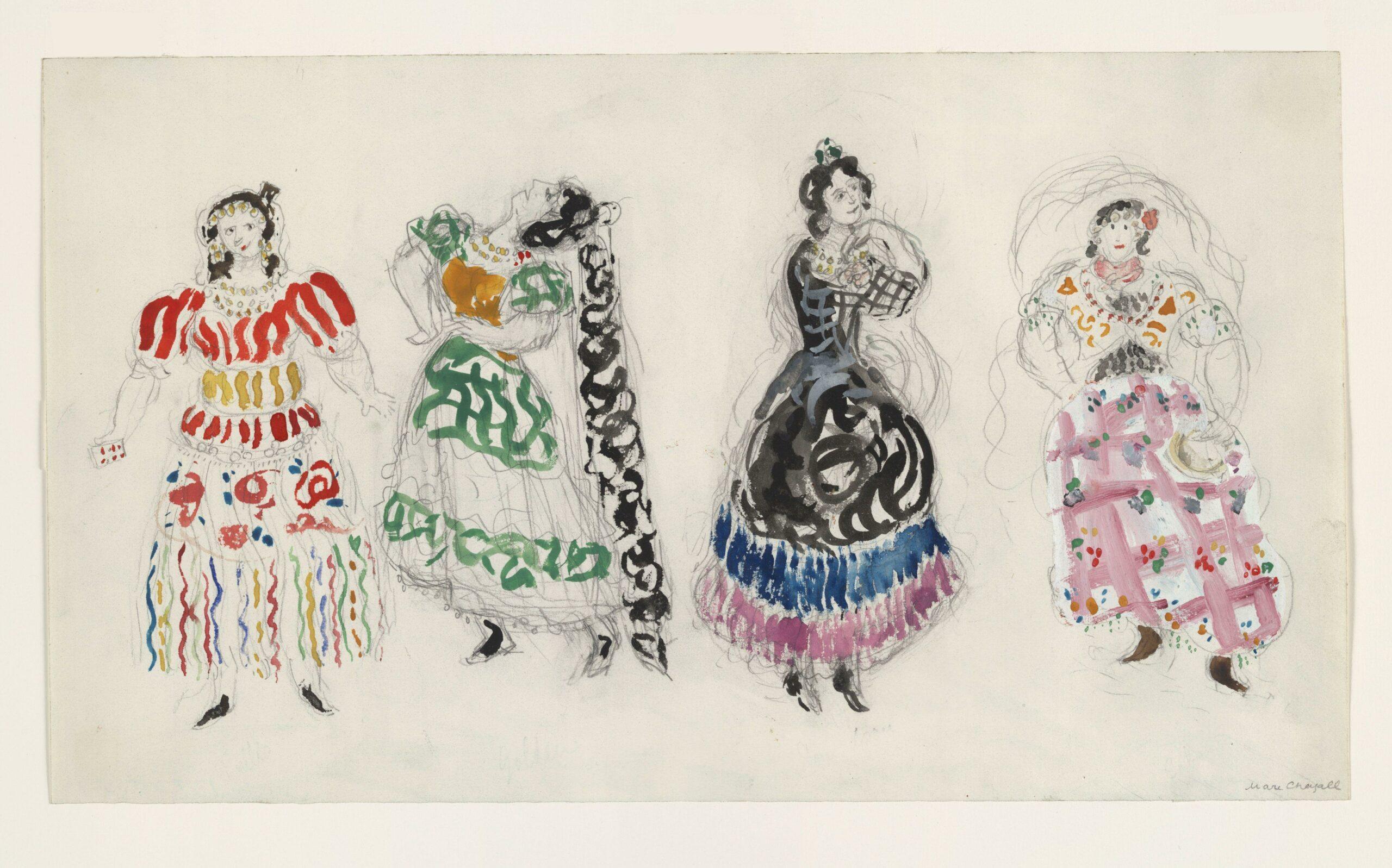 Marc Chagall – Gypsies