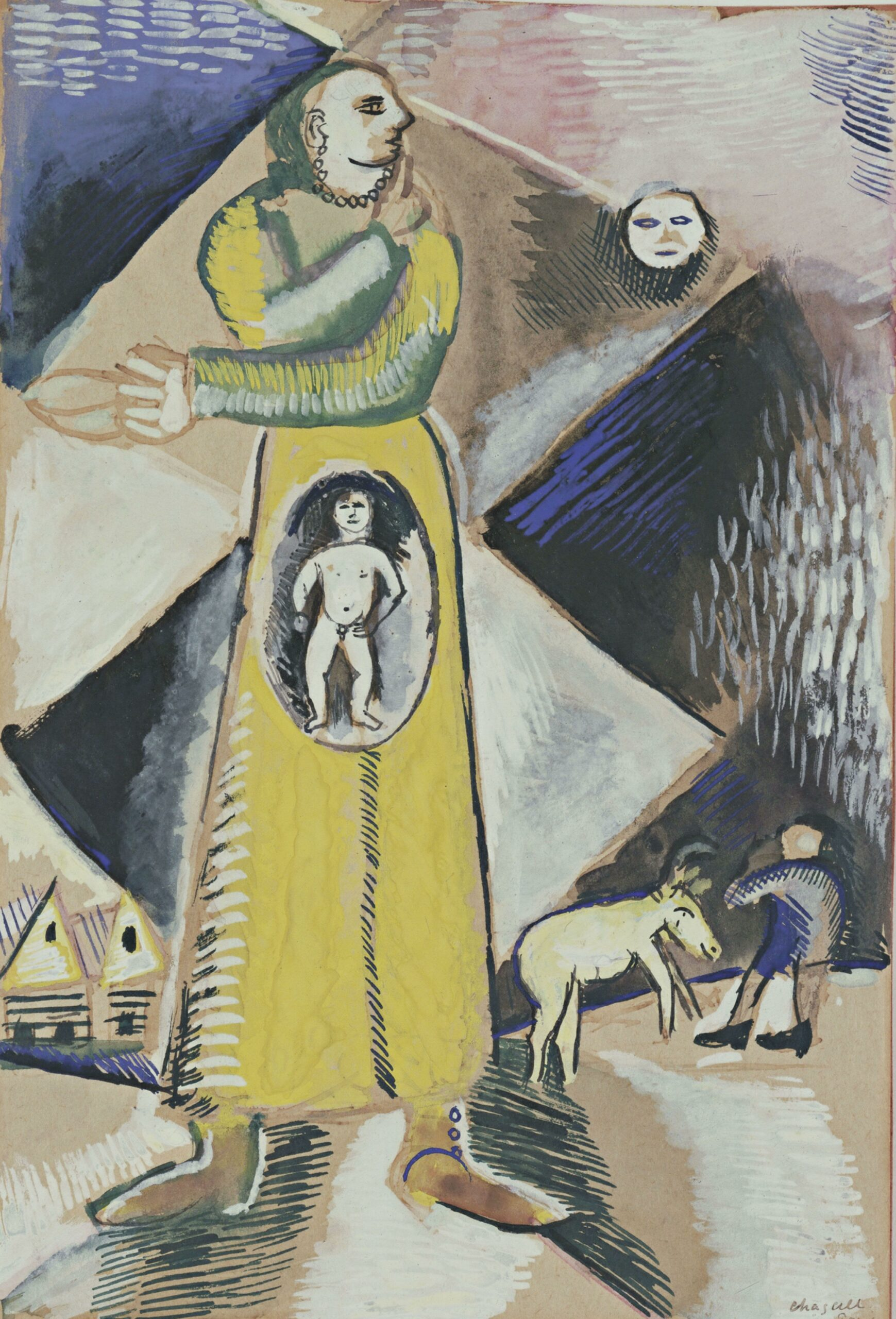 Marc Chagall – Maternity