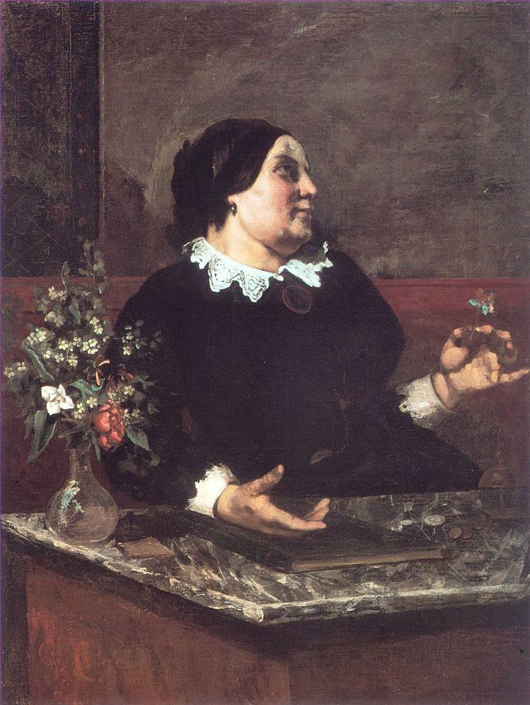Mother Gregoire – Gustave Courbet