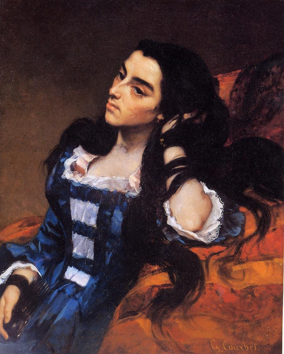 Portrait of a Spanish Lady – Gustave Courbet