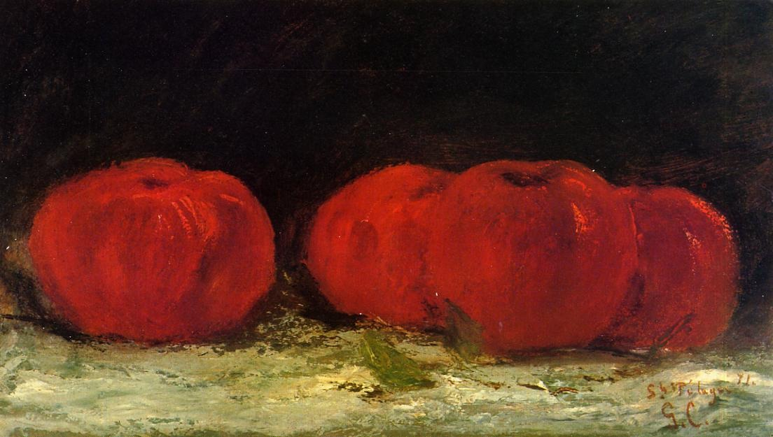 Red Apples – Gustave Courbet