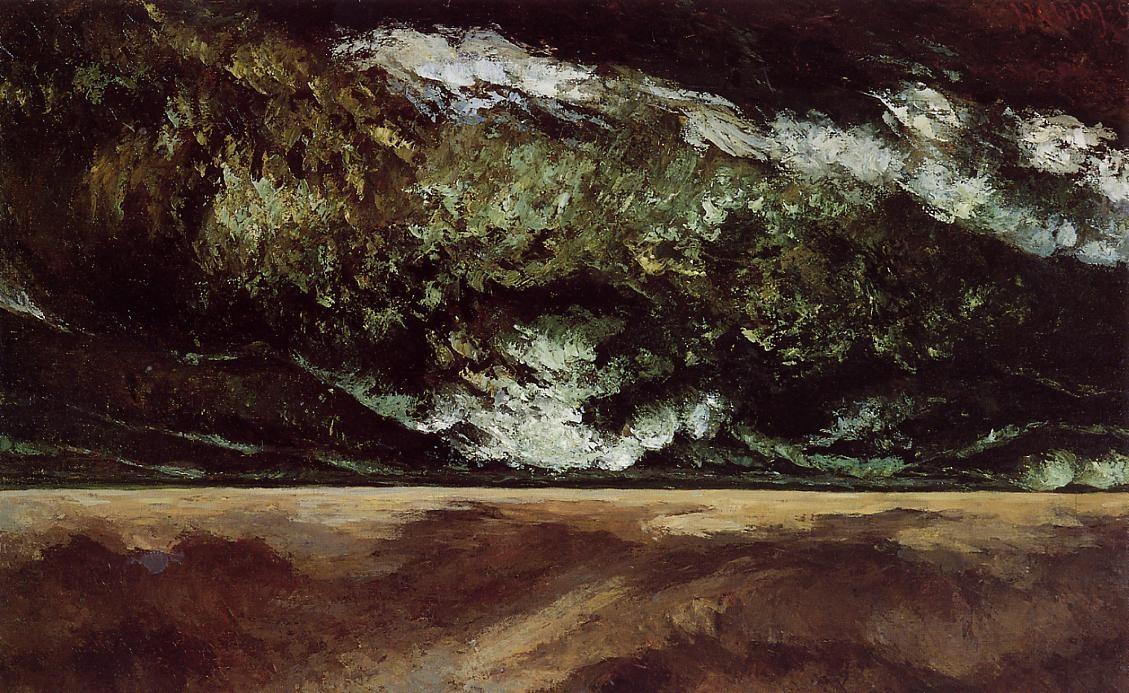The Angry Sea – Gustave Courbet