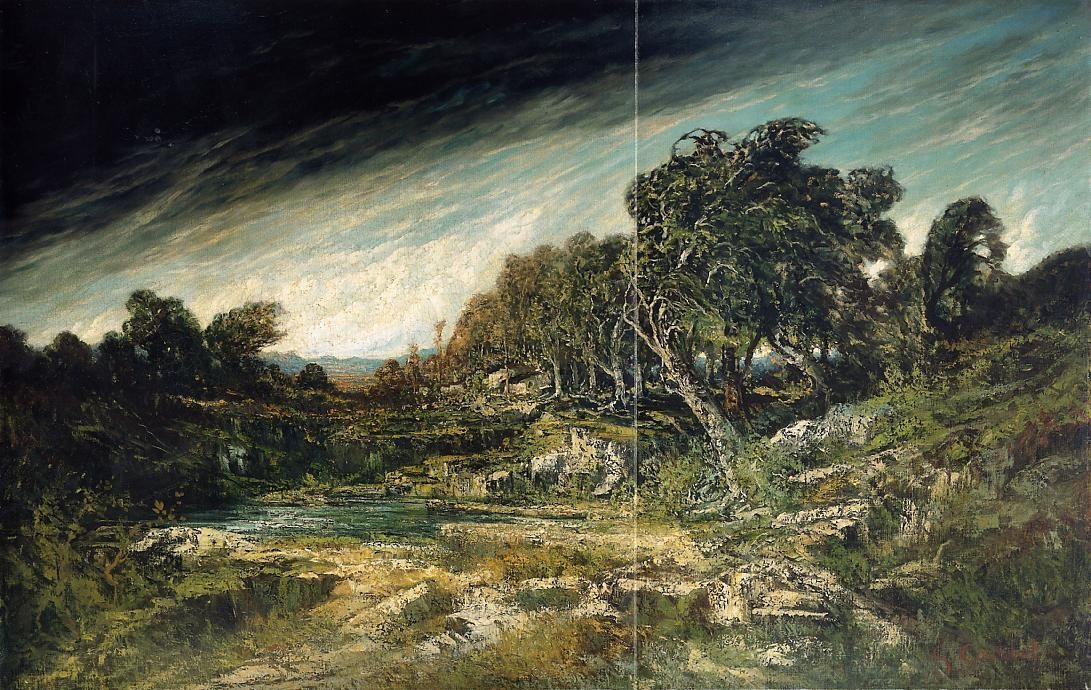 The Approaching Storm – Gustave Courbet