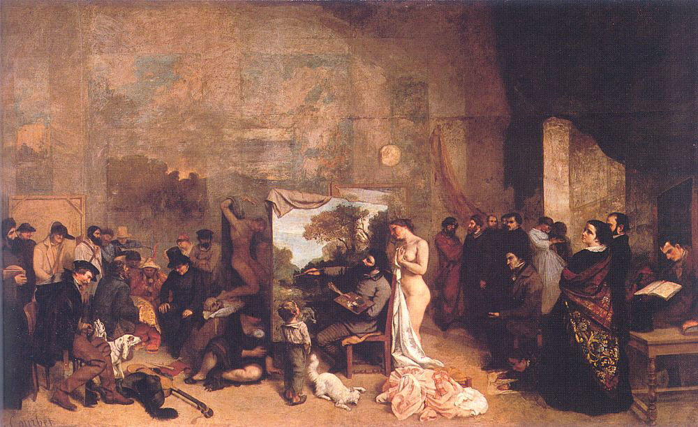 The Artist's Studio – Gustave Courbet