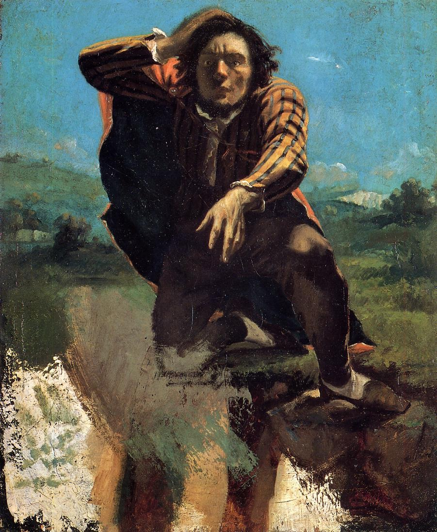 The Desperate Man – Gustave Courbet