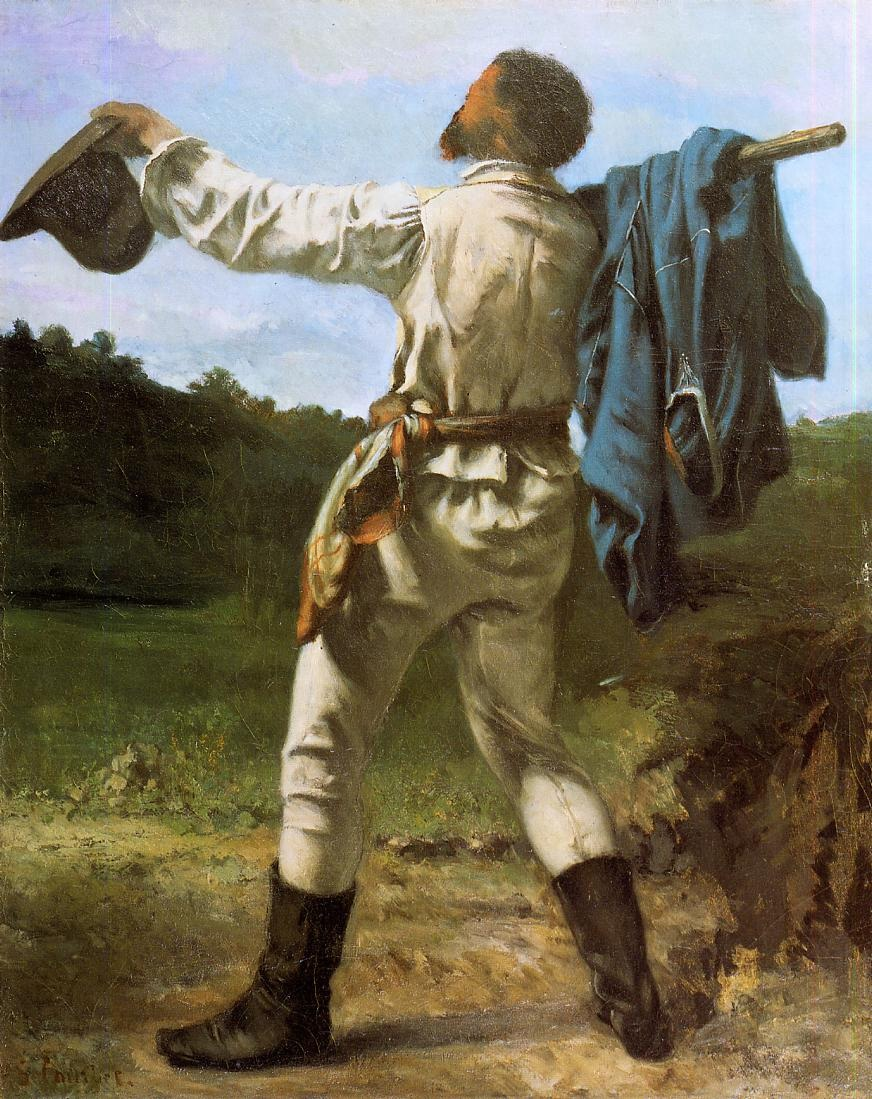 The Homecoming – Gustave Courbet