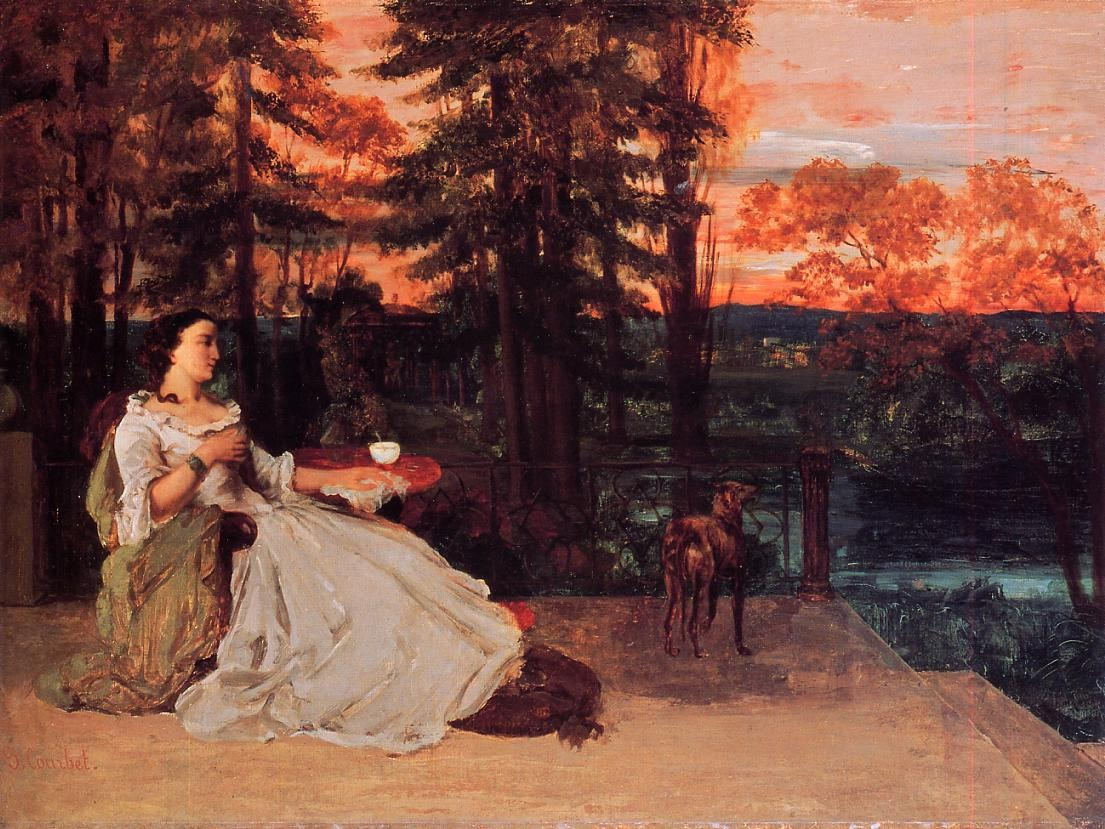 The Lady of Frankfurt – Gustave Courbet
