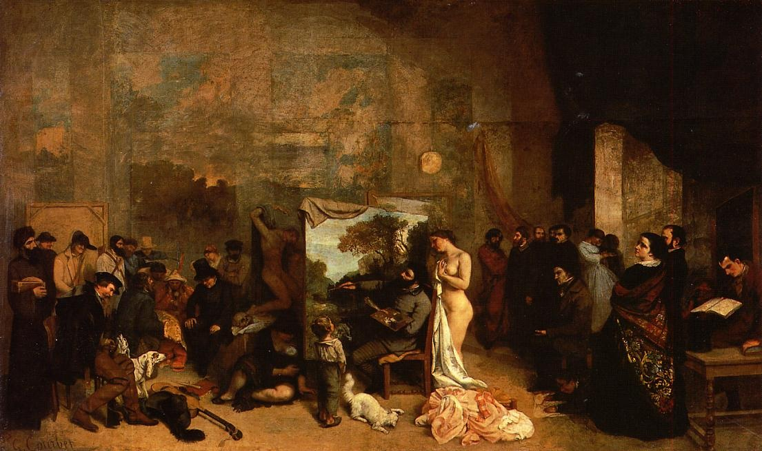 The Painter's Studio – Gustave Courbet