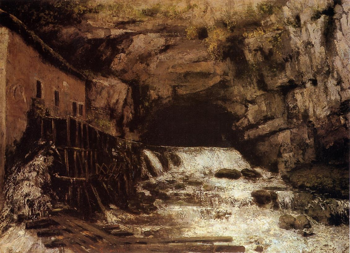 The Source of the Loue – Gustave Courbet