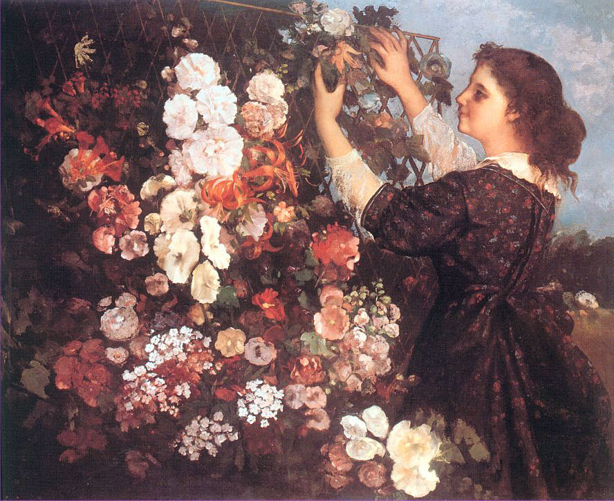 The Trellis – Gustave Courbet